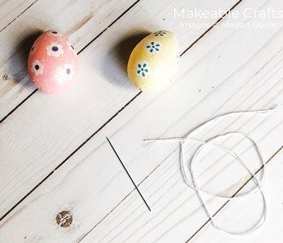 Easter Egg Craft for Decorating