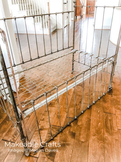 Repurpose a Crib | The Before