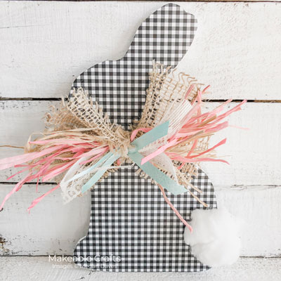 Adorable Easter Rabbit Decorations | Finish with your cotton tail