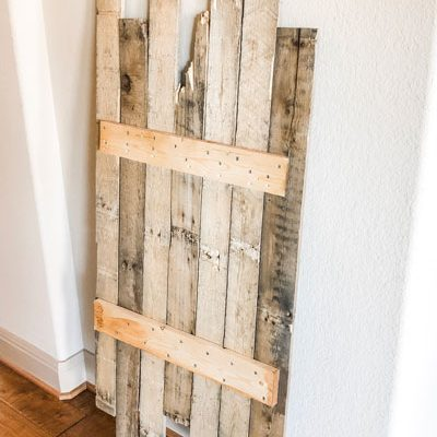 Pallet Wood Wall Decor