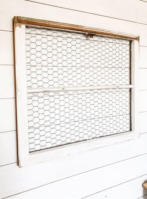 Repurpose Old Windows | Hang it on the wall