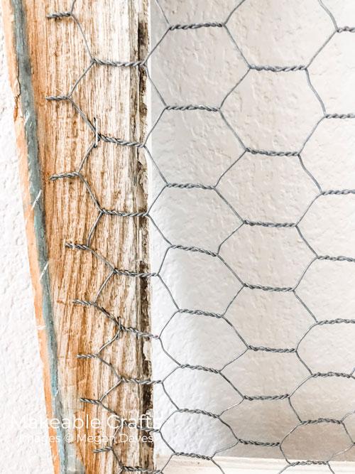 Repurpose Old Windows | Start in the corner