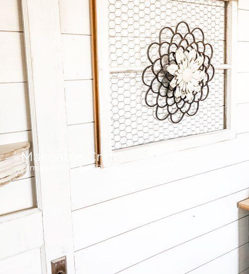 Repurpose Old Windows   Time to decorate