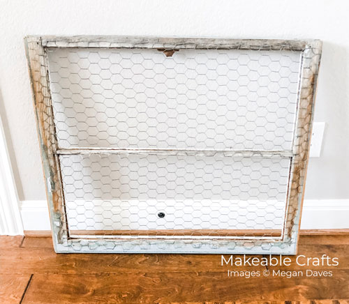 Repurpose Old Windows | the finished window