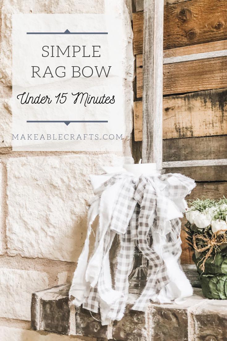 simple rag bow 2
