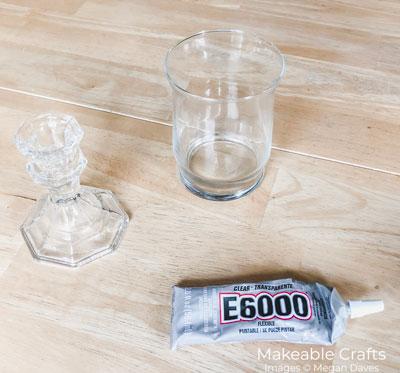 simple rag bow | Jar supplies