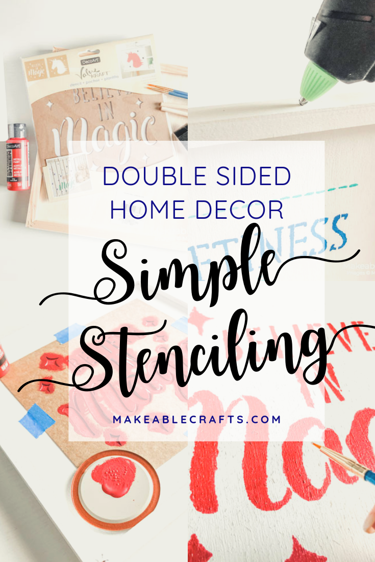 double sided craft room storage