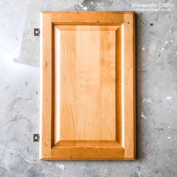 Old Cabinet Door Craft Ideas | the before cabinet
