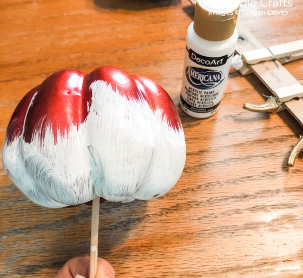painting dollar store pumpkins | painting your pumpkins