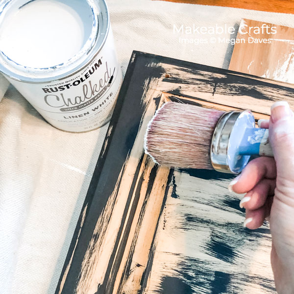 Old Cabinet Door Craft Ideas | paint with Chalked Paint