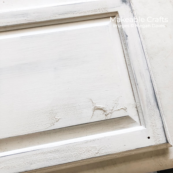 Old Cabinet Door Craft Ideas | sand to distress