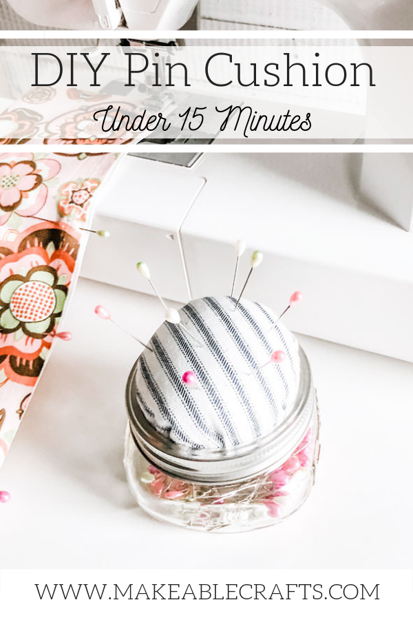 diy pin cushion | finished projects