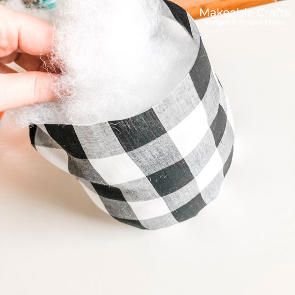 fabric pumpkins | stuff with polyfill