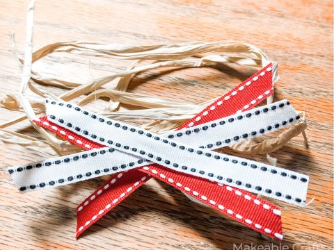 remaking a junk store find | finishing a scrap bow