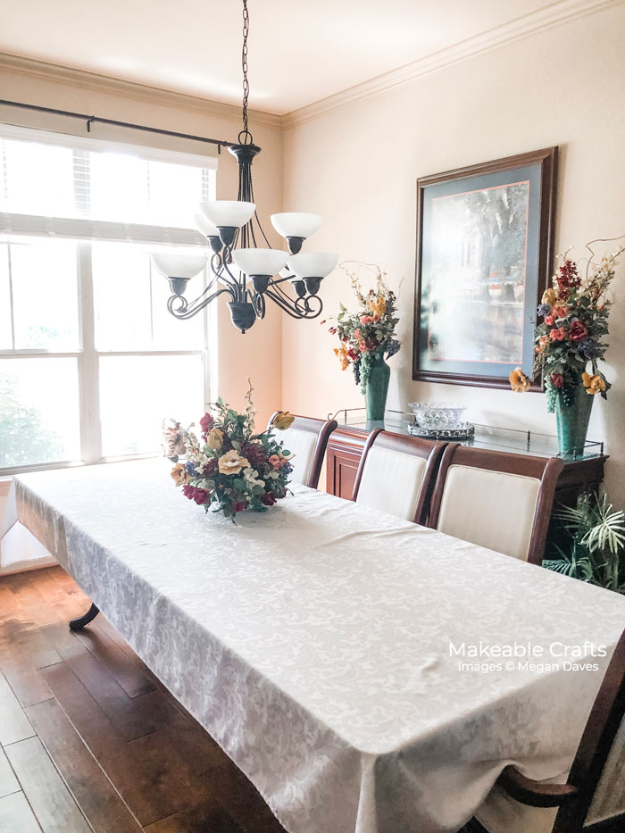dining room makeover | the before