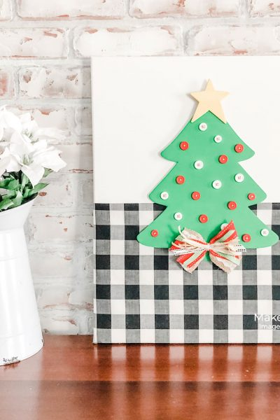 Christmas canvas wall art that will surprise you with its secret!