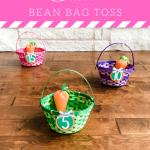DIY Easter Egg Bean Toss