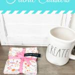 easy fabric coasters