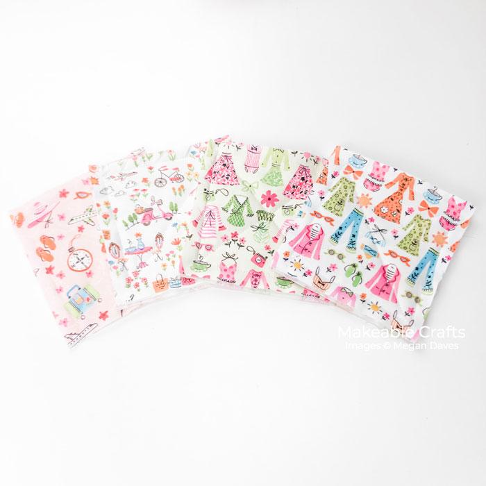 Fun and Easy Fabric Coasters