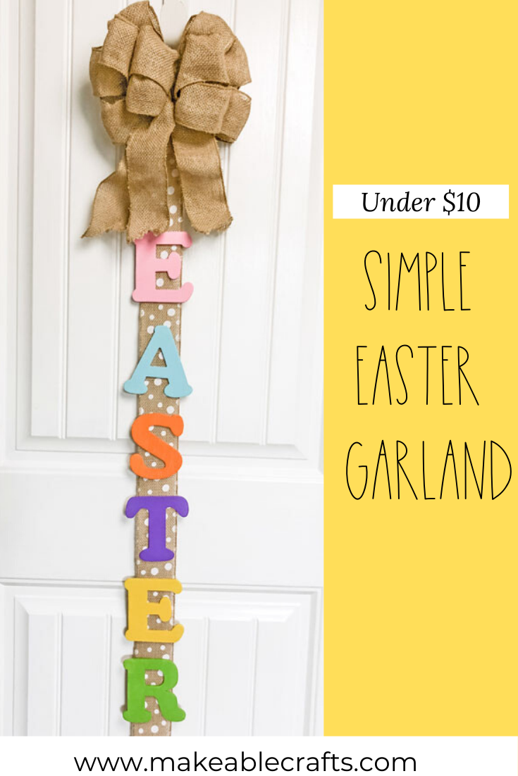 Simple Easter Vertical Garlang