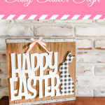 easy easter sign you can make