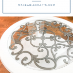 Click through to see this awesome chalk paint coffee table makeover!
