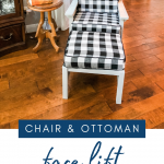 Easy Chair Reupholstery