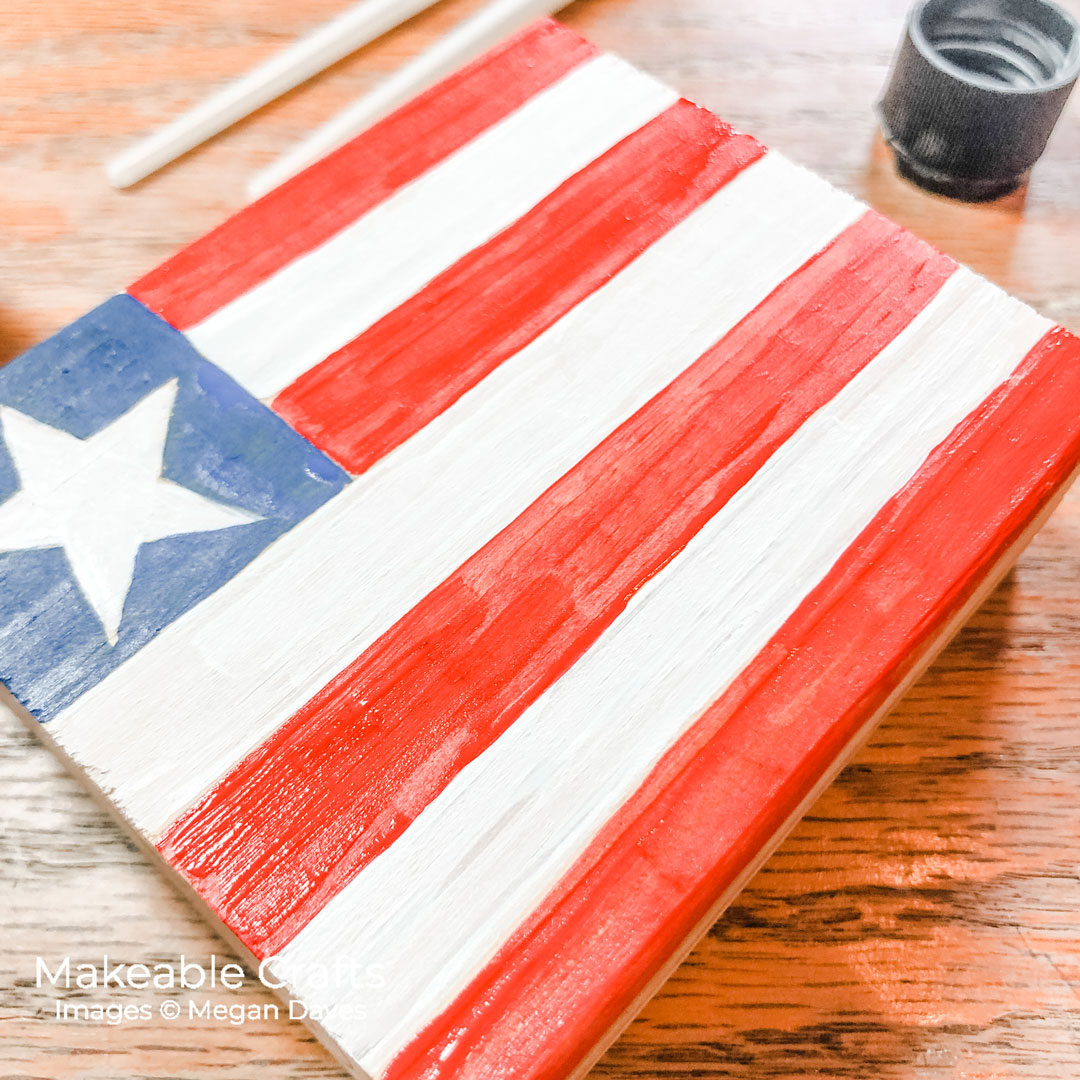 painting your flag crafts