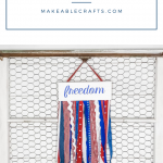 Patriotic Crafts With Fabric Scraps