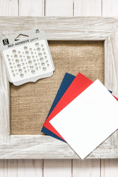 supplies for your american flag craft