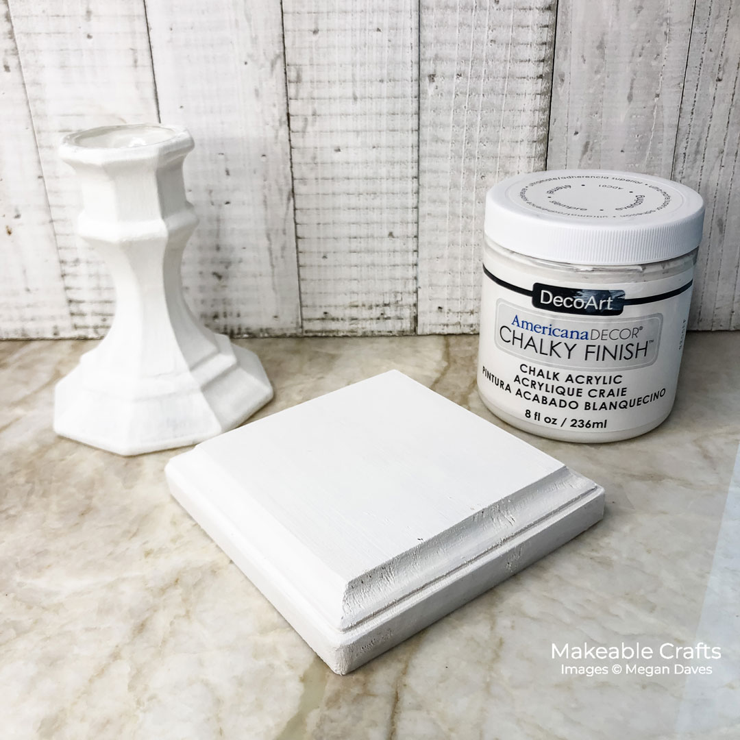 use chalky finish paint on other pieces