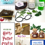 Come get a TON of inspiration for all kinds of Harry Potter crafts!