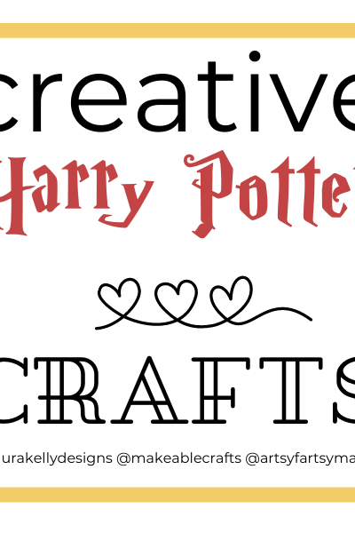 Come get ideas for over two dozen fun and easy Harry Potter crafts!