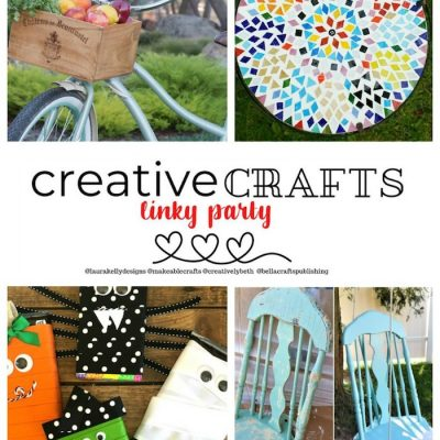 Creative Crafts New Linky Party!!