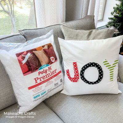 Easy DIY Accent Pillow For the Holidays