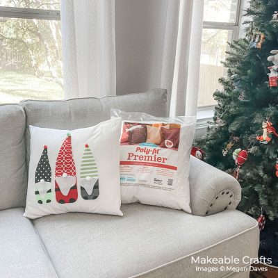 Easy DIY Gnome Pillows