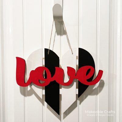 Simple Valentines Day Craft