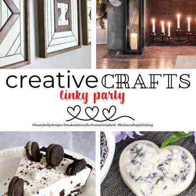 Creative Crafts Linky Party #23