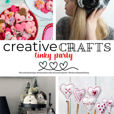 Creative Crafts Linky Party #25