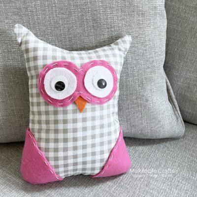 Handmade Small Stuffed Owls