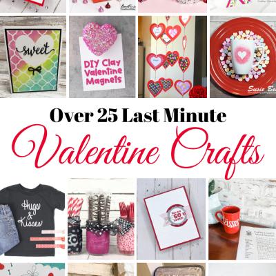 Over 25 Quick Valentine Crafts