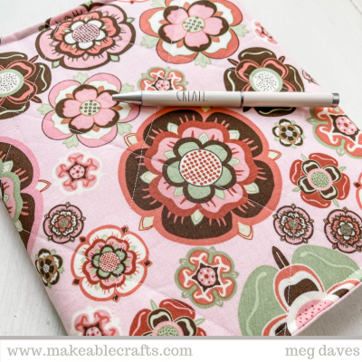 How to Make Fabric Covered Journals