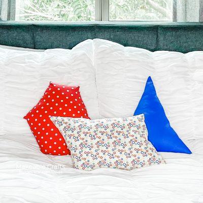 Easy Geometric Shaped Pillows